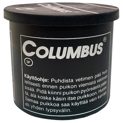 100922 Columbus stift sort dåse